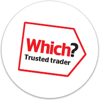 Proud to be a Which? Trusted trader - You're in safe hands